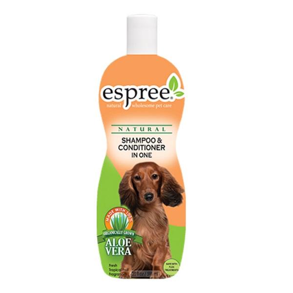 Шампунь-бальзам для кошек и собак Espree Classic Care Shampoo  Conditioner In One 355 мл.