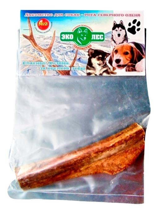 Лакомство для собак Эколес, рога северного оленя №1, 50г фото