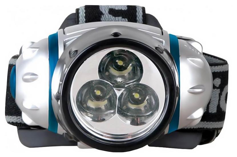 Туристический фонарь Camelion 5321-3MX серебристый, 2 режима