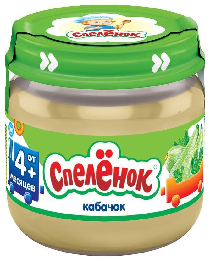Купить Пюре овощное Спелёнок Кабачок с 4 месяцев 80 г, Спеленок, Овощное пюре