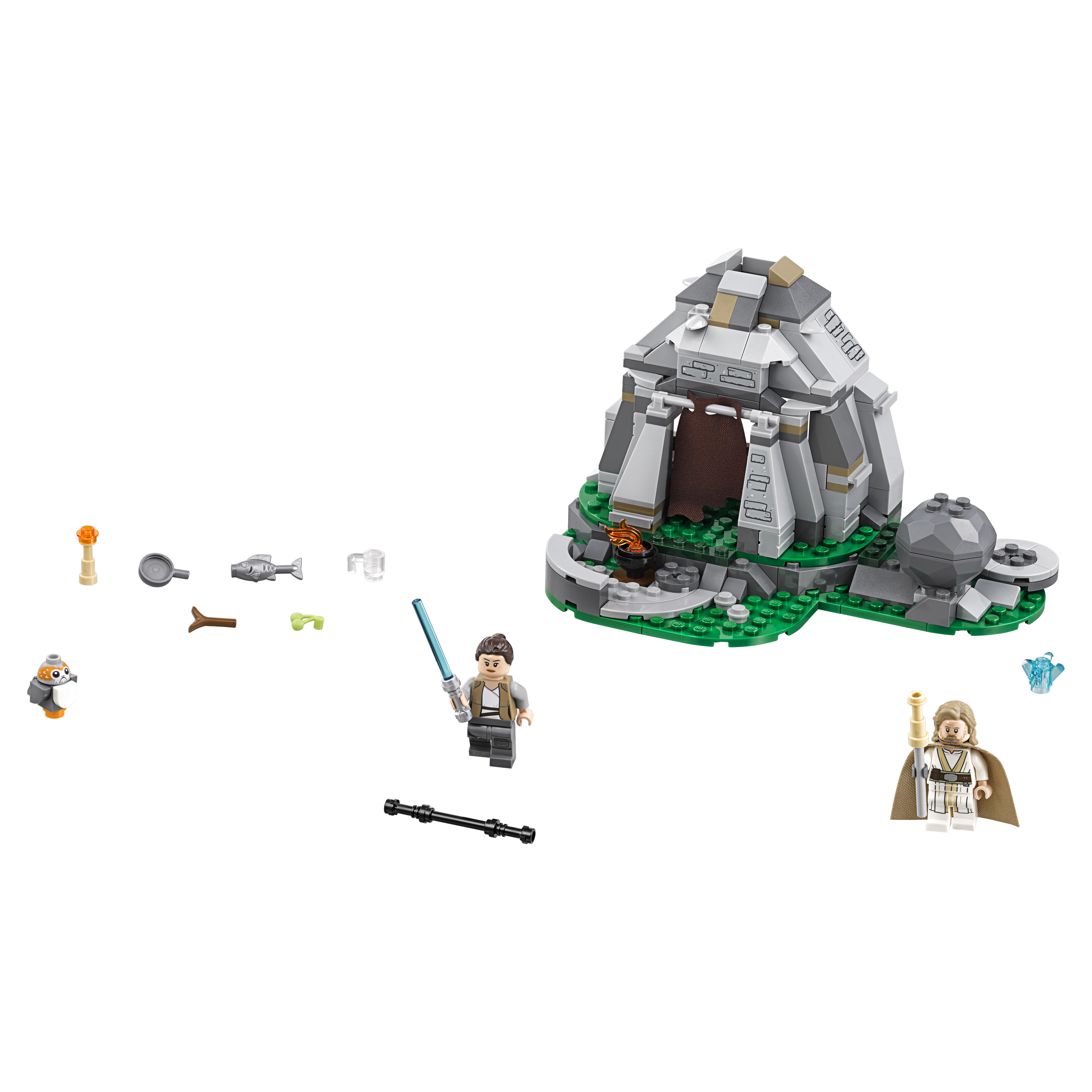 Конструктор LEGO Star Wars Тренировки на островах Эч-То (75200)