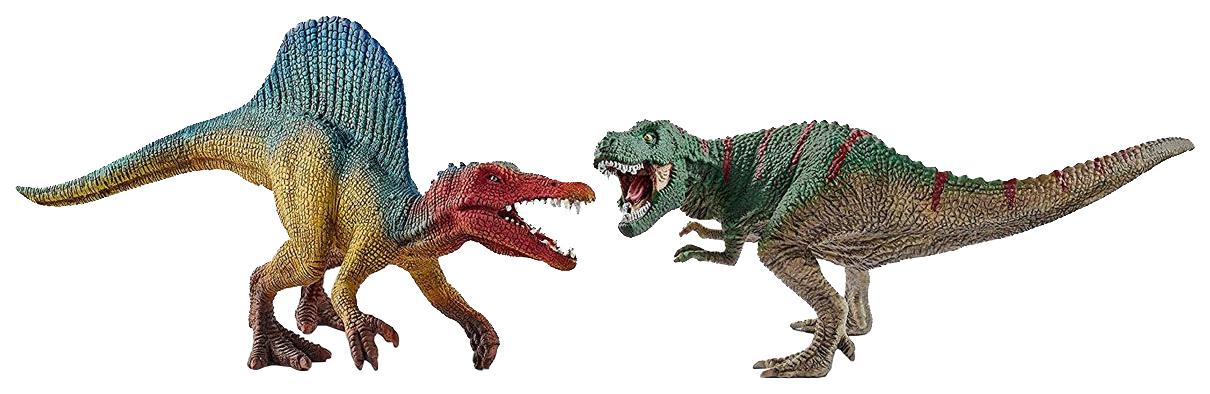 Фигурка Schleich Тираннозавр и Спинозавр, Фигурки животных  - купить со скидкой