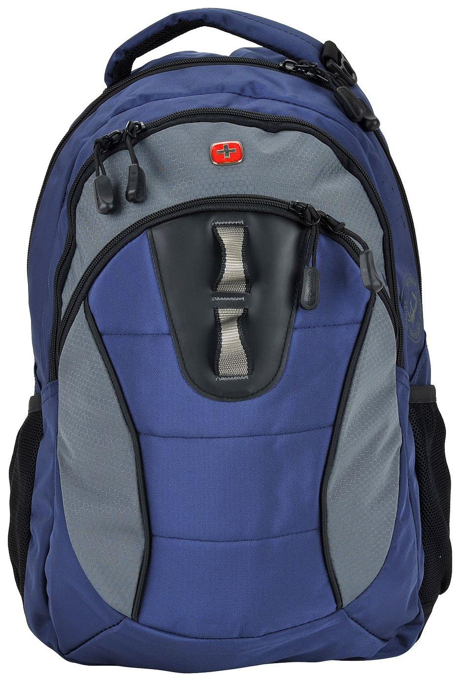 Рюкзак Wenger 16063415 серый/синий 22 л