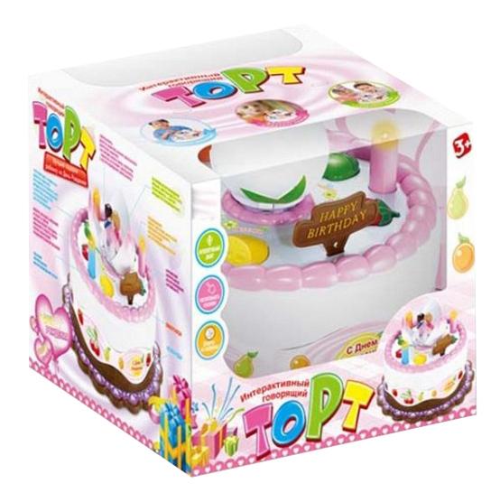 Интерактивная игрушка торт Gratwest Б79286 фото