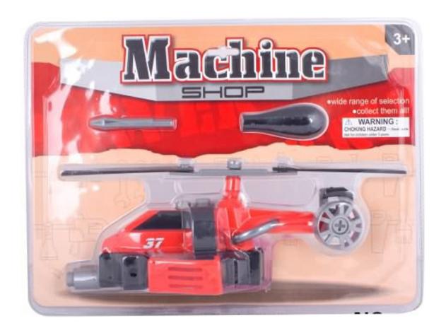 Конструктор Machine Shop Вертолет с отверткой Gratwest Г34126 фото