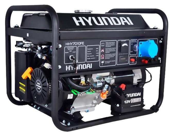 Бензиновый генератор HHY 7010FE