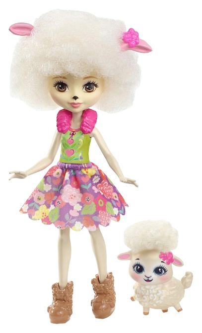 Купить Кукла Лорна Барашка Enchantimals FNH25 Кукла с питомцем 15 см, Куклы