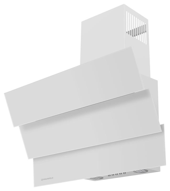 Вытяжка наклонная MAUNFELD Cascada Mini 60 White фото