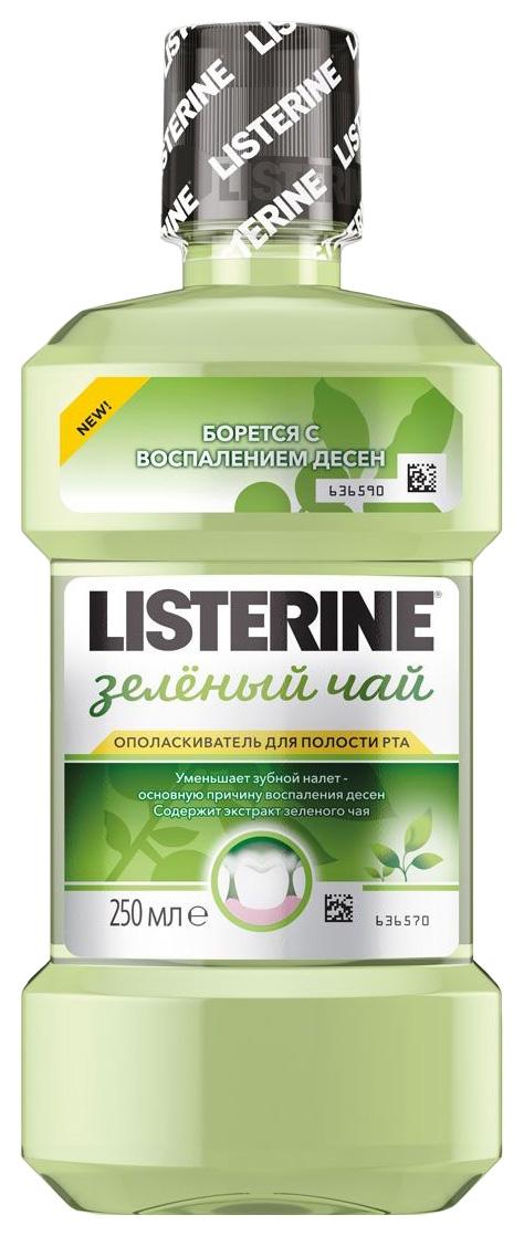 Ополаскиватель для рта Listerine Зеленый чай 250 мл