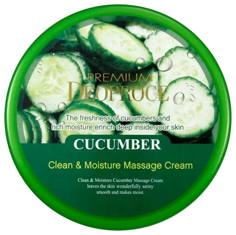 Крем для лица Deoproce Clean #and# Moisture Cucumber Massage Cream 300 г