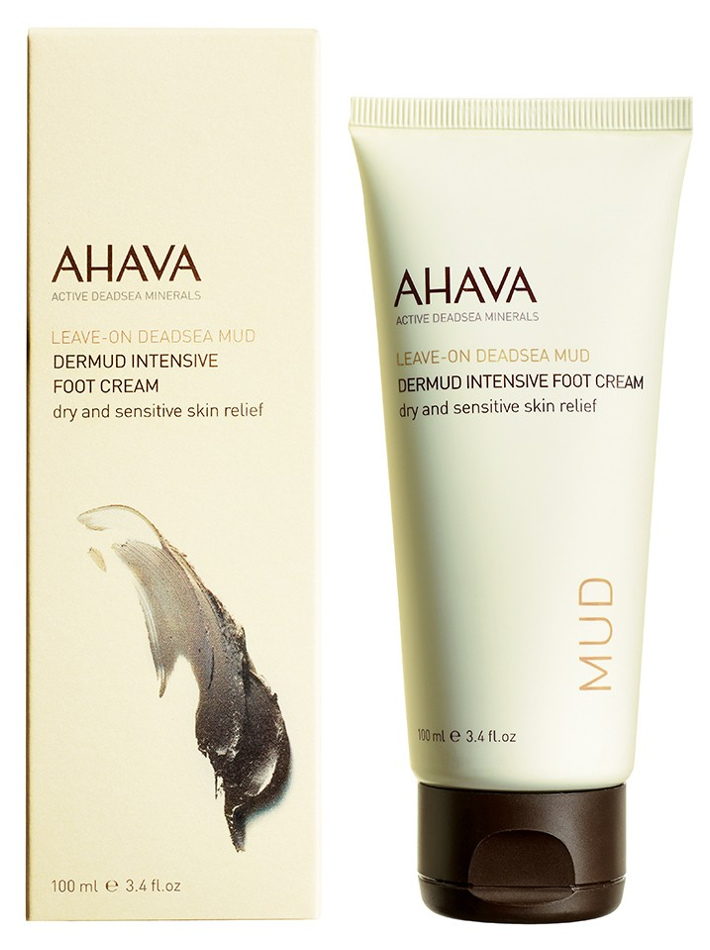 AHAVA DEADSEA MUD INTENSIVE FOOT CREAM  фото