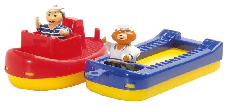 Купить AQUAPLAY Игровой набор игрушки для воды Акваплей Буксир и баржа с фигурками 257, Игрушки для купания малыша