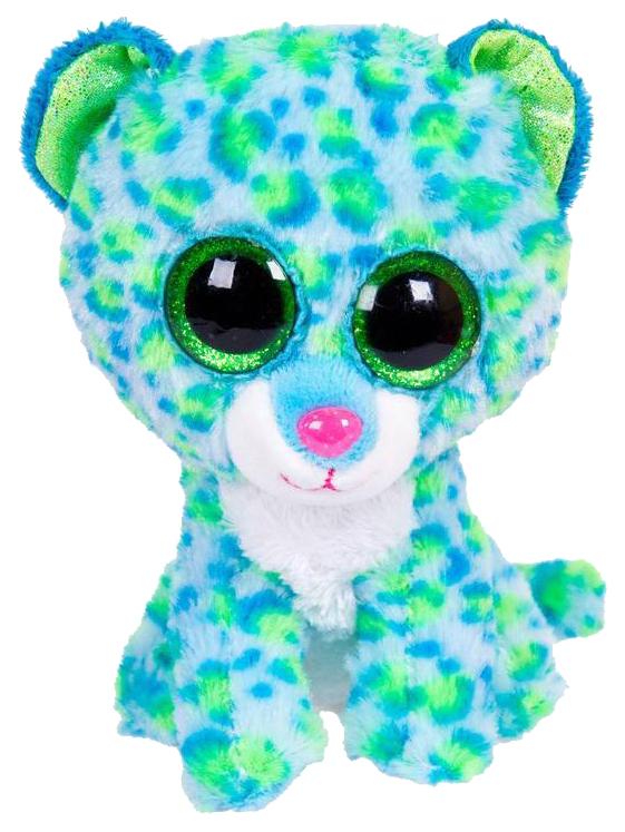 Купить Мягкая игрушка ABtoys Леопард голубой, 15 см, Мягкие игрушки антистресс