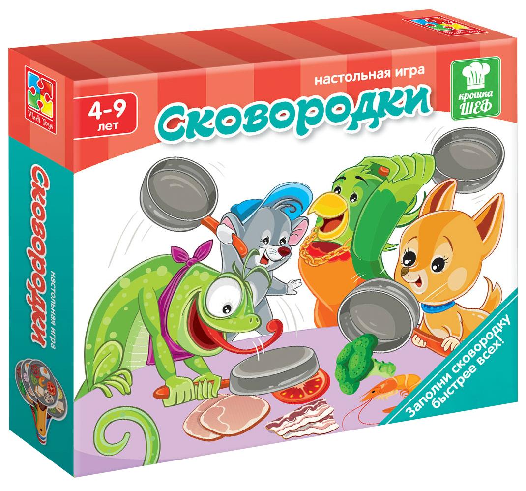 Семейная настольная игра Vladi Toys vt2309-09 Cковородки фото