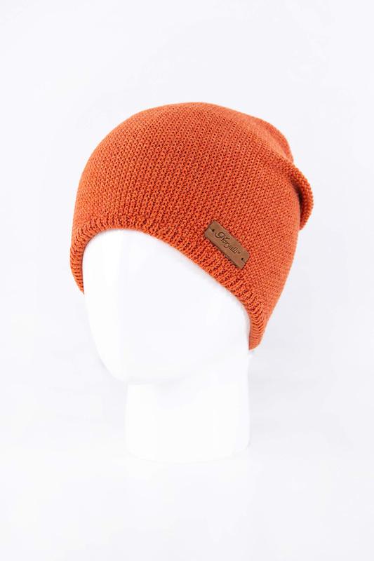 Шапка женская Noryalli 45910 оранжевая ONE SIZE