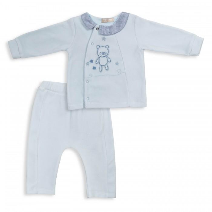 Комплект одежды RBC, цв. голубой р.74