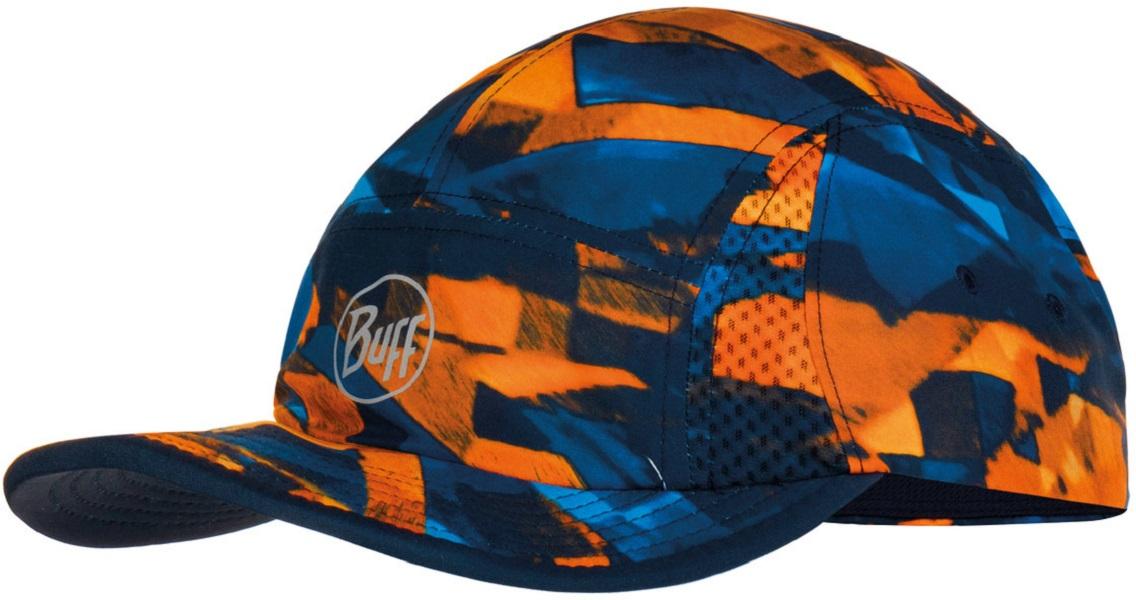 Кепка Buff Run Cap Patterned темно синяя