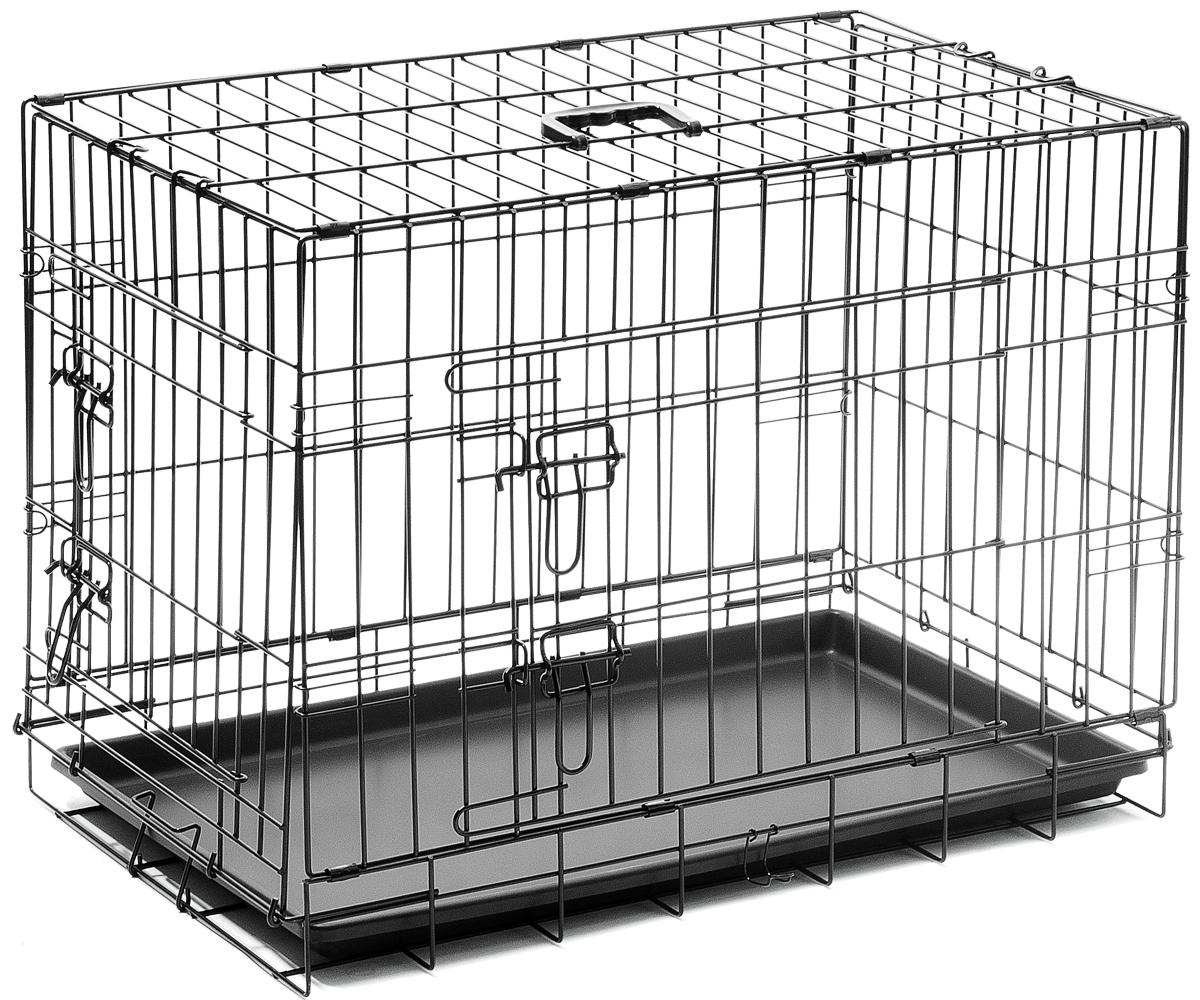 Клетка ZooOne №3, 75x48x53 см, 2 двери