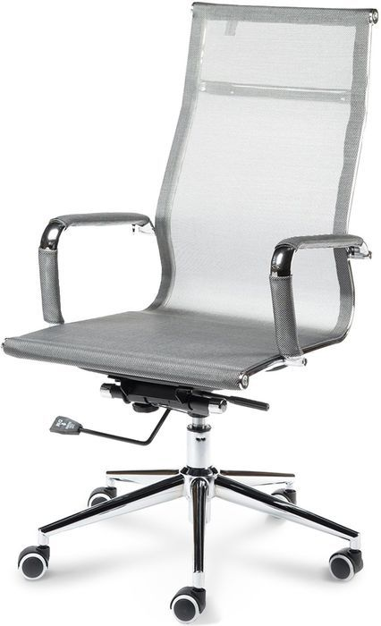 Офисное кресло Хельмут H-102-01 серебро