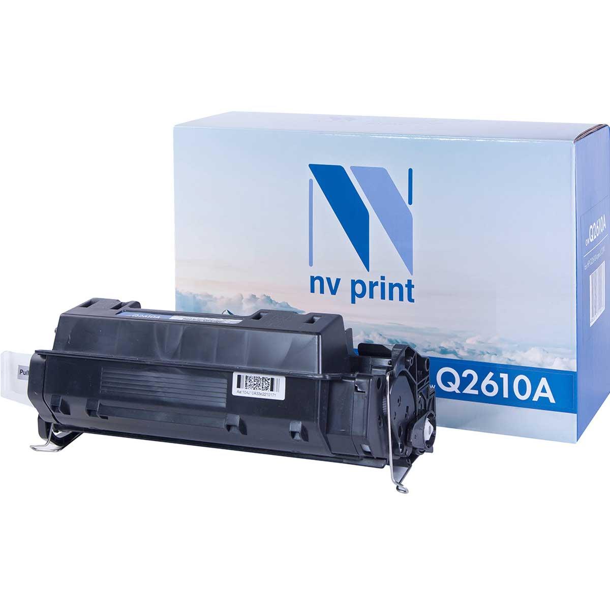 Картридж для лазерного принтера NV Print Q2610A, черный