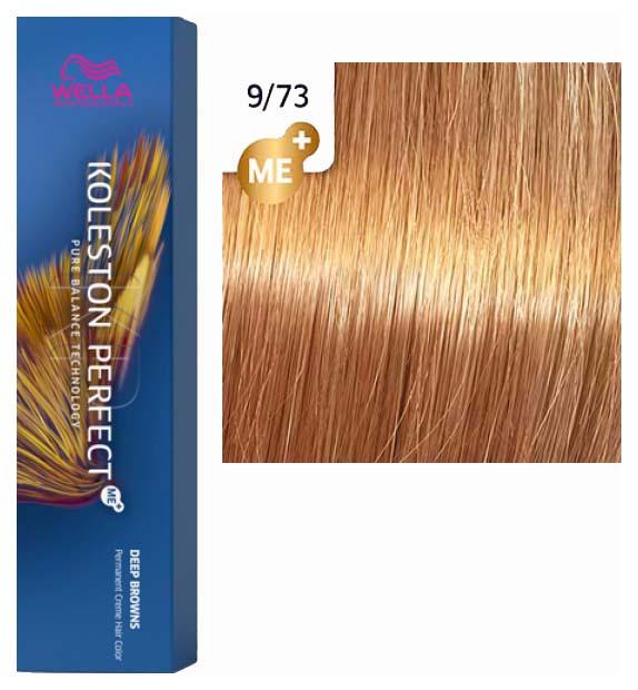 Краска для волос Wella Koleston Perfect Me+ 9/73 Золотой тик 60 мл