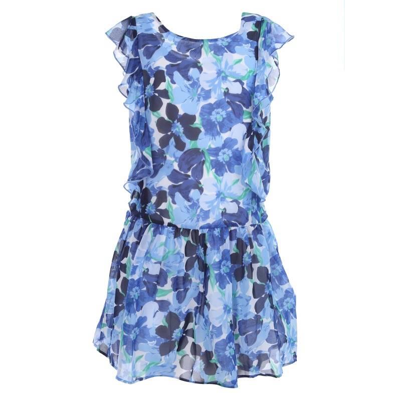 Купить Платье MAYORAL, цв. синий, 140 р-р, Детские платья и сарафаны