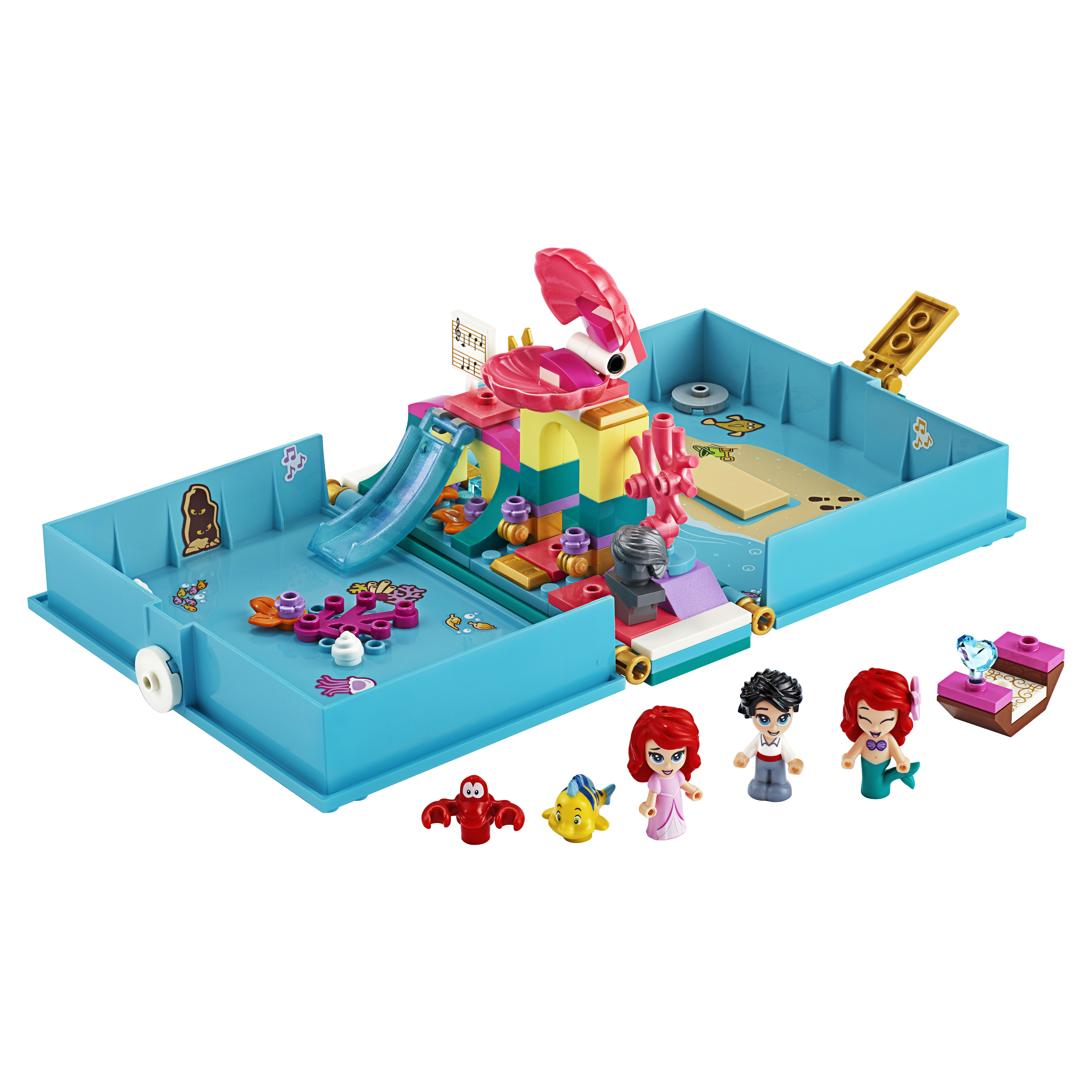 Конструктор LEGO Disney Princess 43176 Книга сказочных приключений Ариэль фото