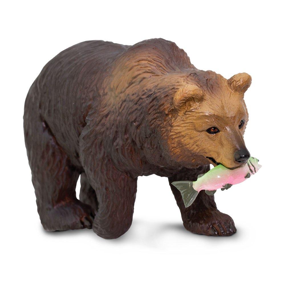 Купить Фигурка медведя Safari Ltd Гризли, Фигурки животных