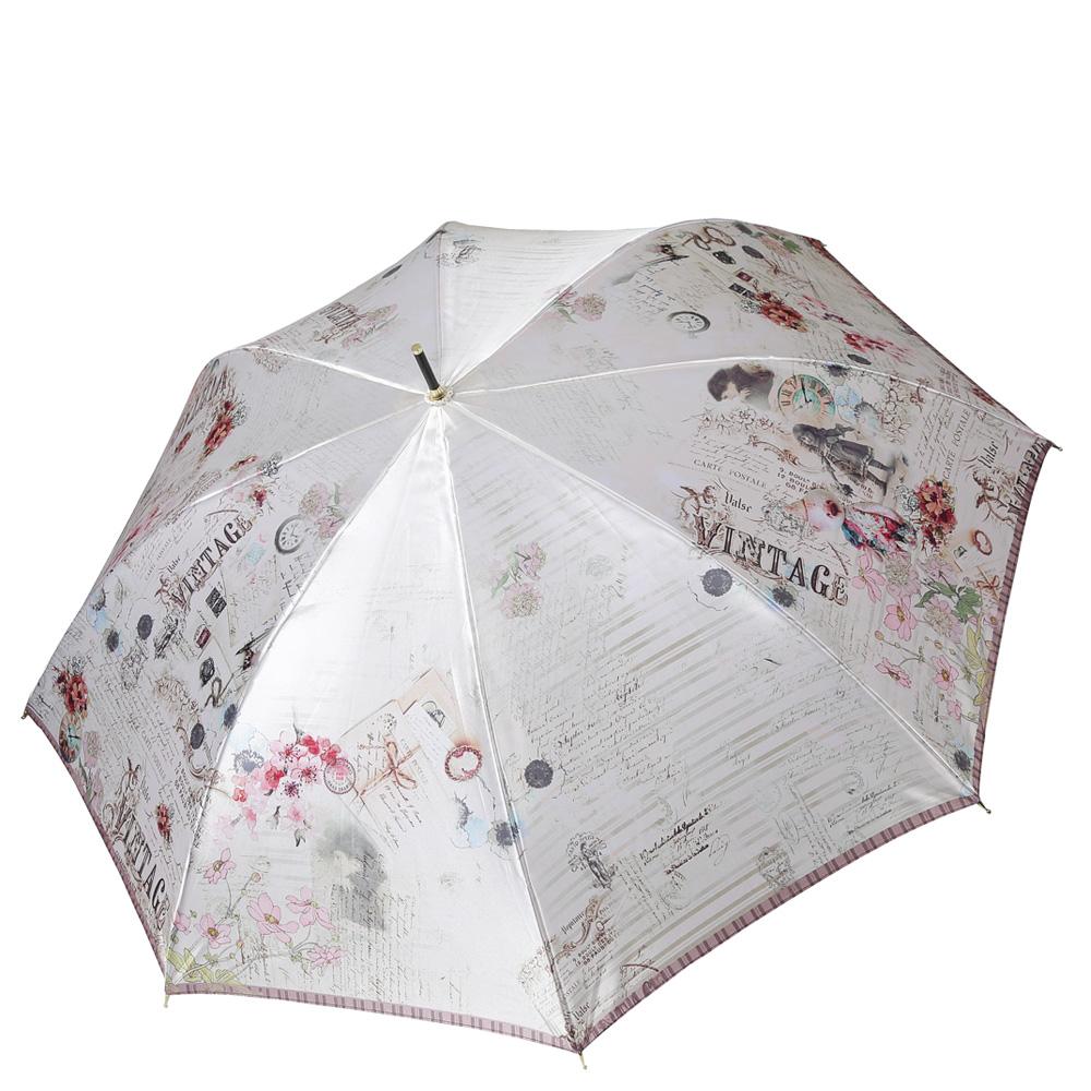Зонт женский FABRETTI 1822 серый