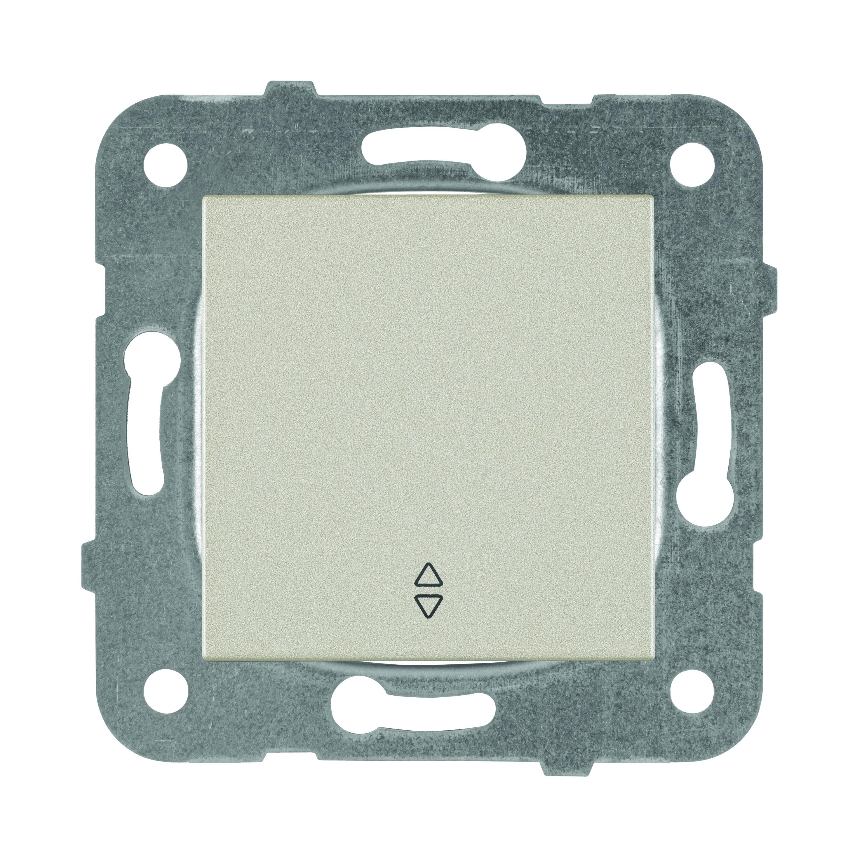 Выключатель Panasonic Karre Plus WKTT0003-2BR-RES