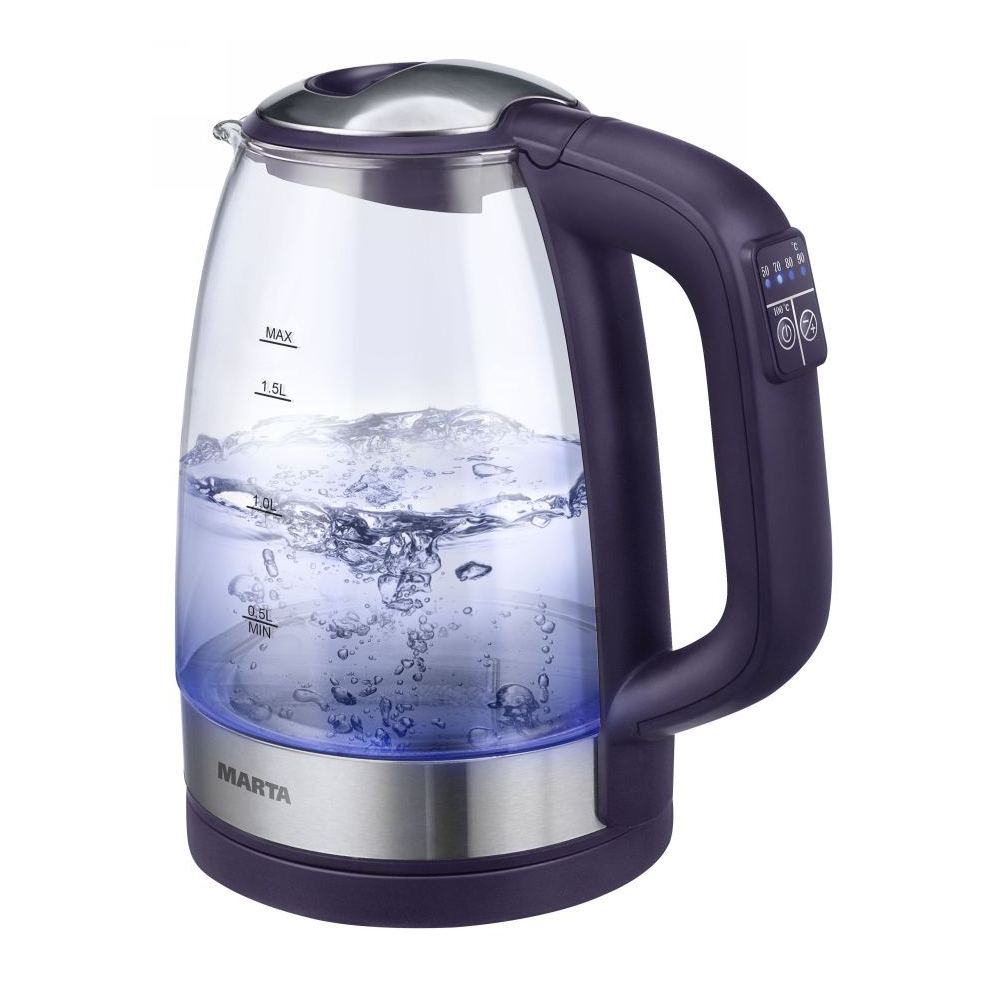 Чайник электрический Marta MT-1087 Blue Sapphire фото