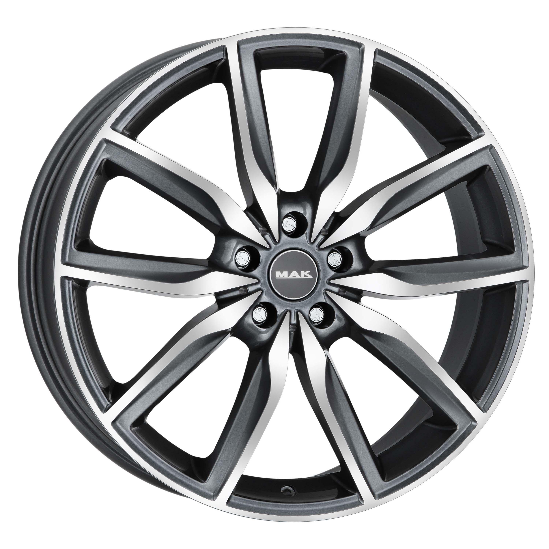 Колесные Диски MAK Allianz 8,0\R19 5*112 ET30 d66,6 Gunmetal Mirror Face F8090AZQM30WSX фото