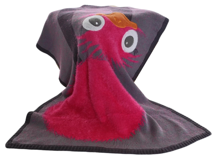 Купить Одеяло Bizzi Growin (Биззи Гровин) Olive Ostrich 70*90 BG028, Одеяла для новорожденных