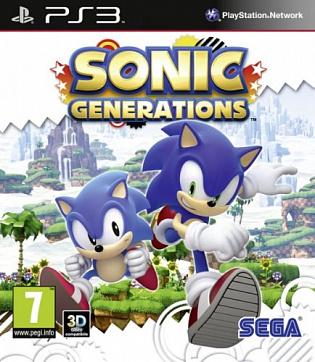 Игра Sonic Generations для PlayStation 3 Sony