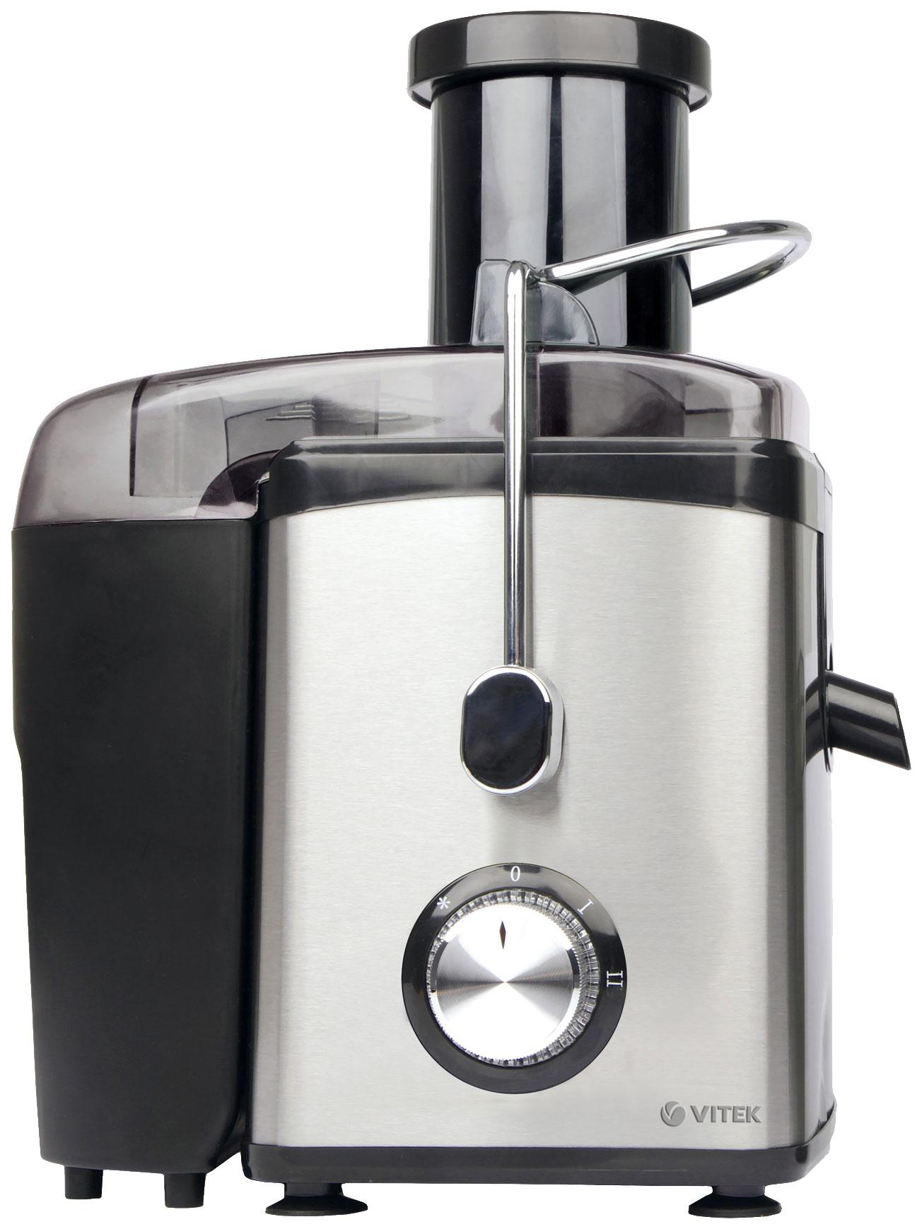 Соковыжималка центробежная VITEK VT 3653 black/silver