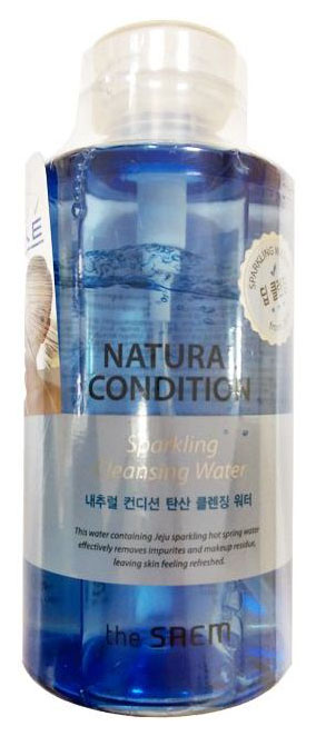 Мицеллярная вода The Saem Natural Condition Sparkling Cleansing