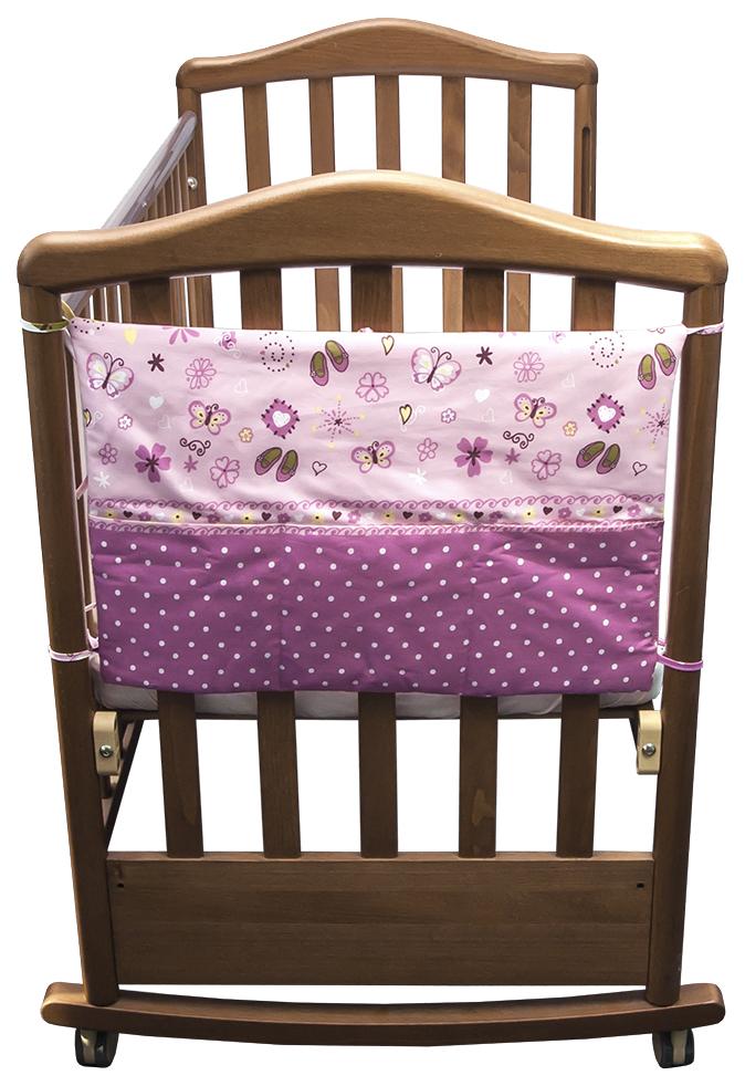 Купить 207 Карман Золушка розовый, Текстильный карман в детскую кроватку Сонный гномик Золушка 207, Аксессуары для детской комнаты
