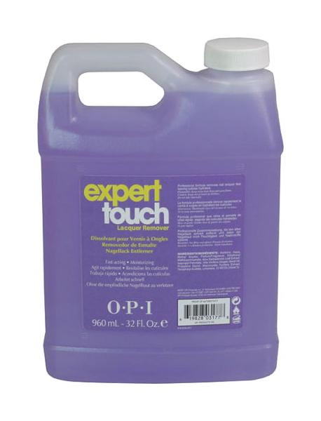 Жидкость для снятия лака OPI Expert Touch 960 мл