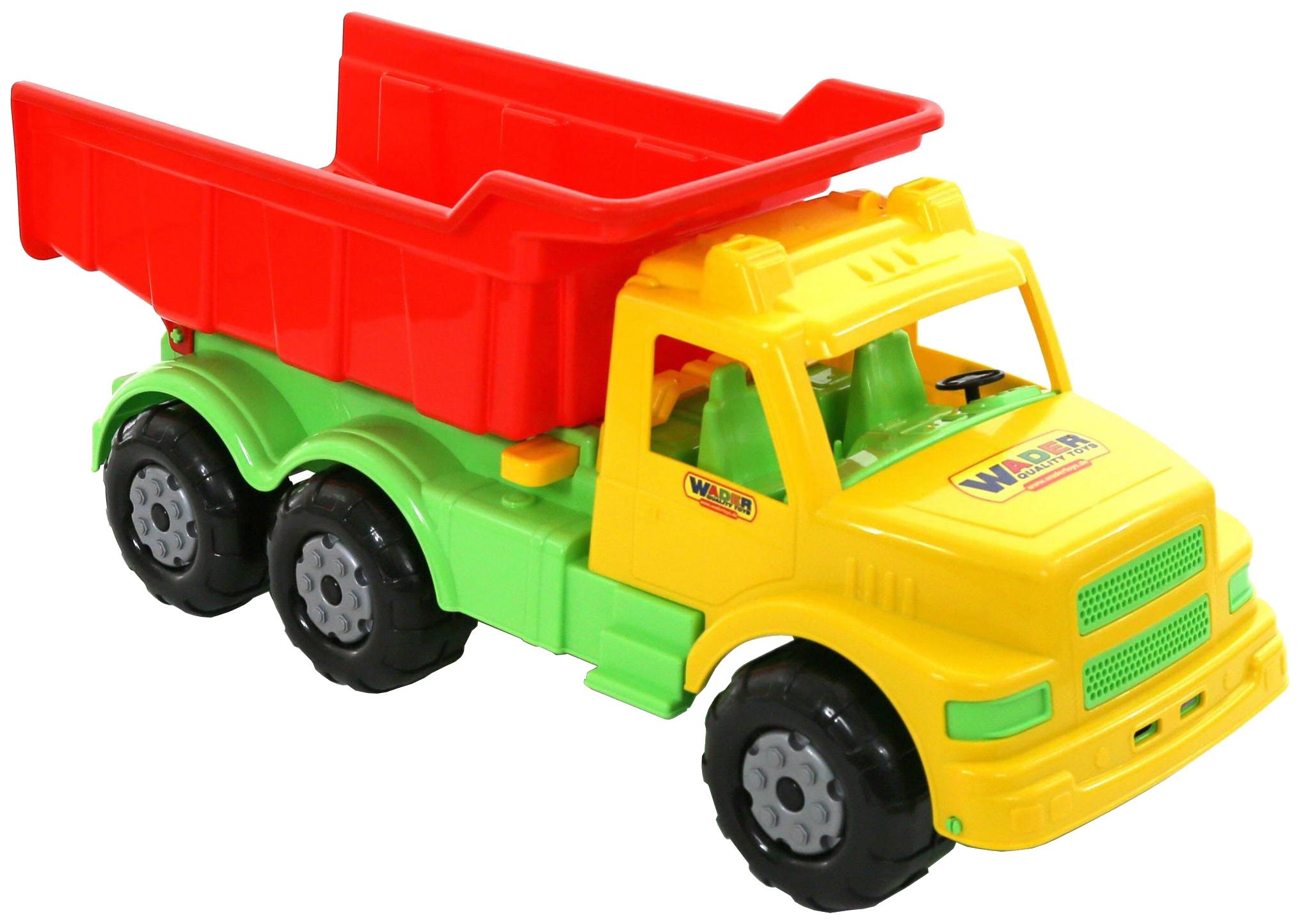 Купить Игрушки, Автомобиль-самосвал Wader Буран N1 жёлтый красный,