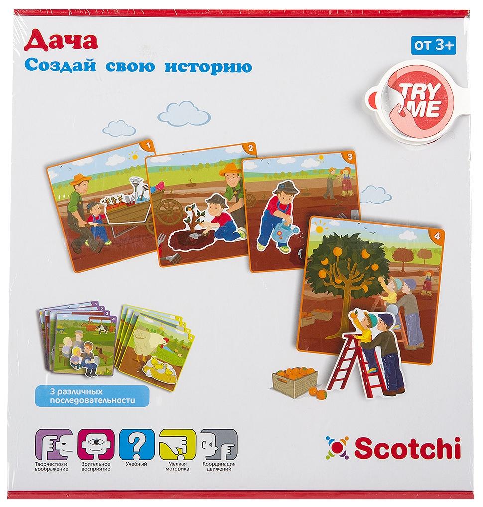 Игра настольная развивающая Scotchi Дача, арт.20031