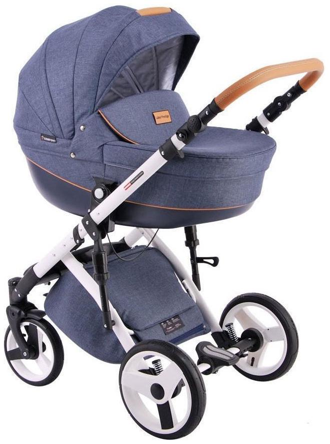 Купить Коляска 2 в 1 Lonex Comfort Prestige Deep blue, Детские коляски 2 в 1