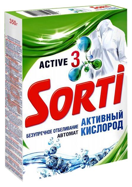 Стиральный порошок универсальный Sorti активный кислород автомат 350 г