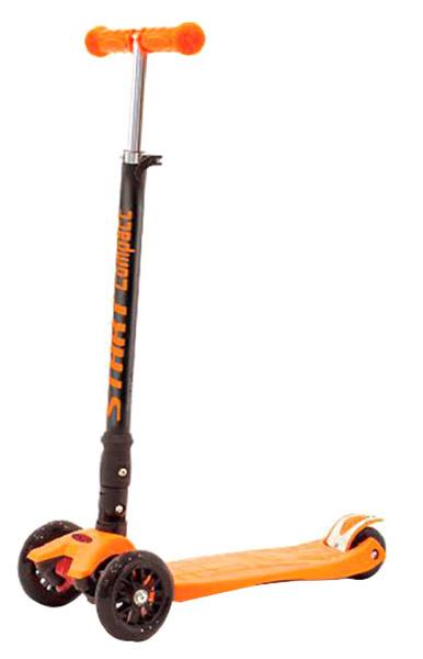 Кикборд Slider Randy Flash светятся колеса оранжевый складной