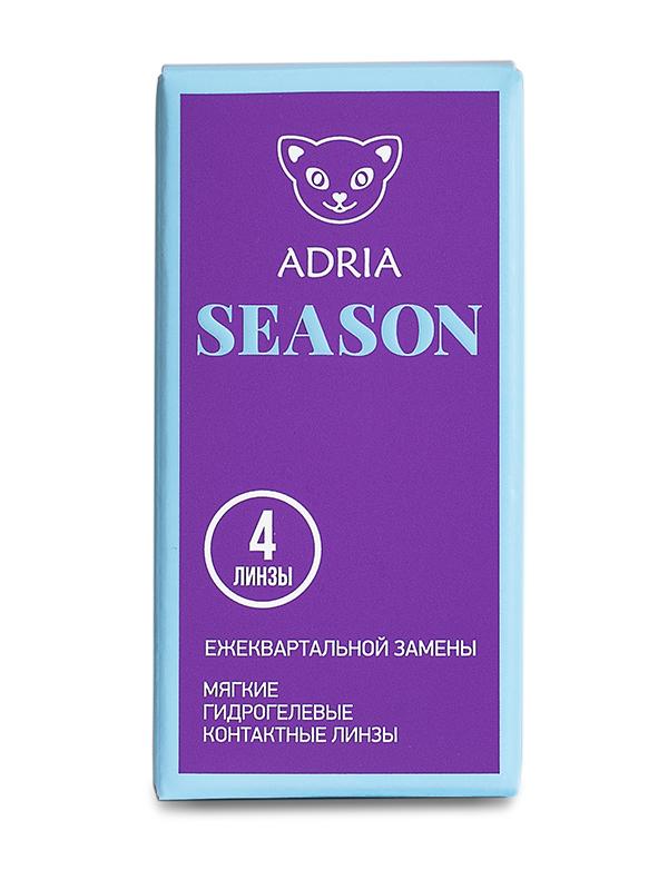 Контактные линзы ADRIA SEASON 4 линзы R 8,6 -3,75 фото