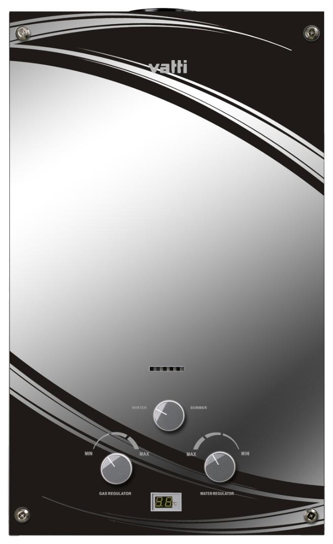 Газовая колонка VATTI LR20 EGE(G) зеркало