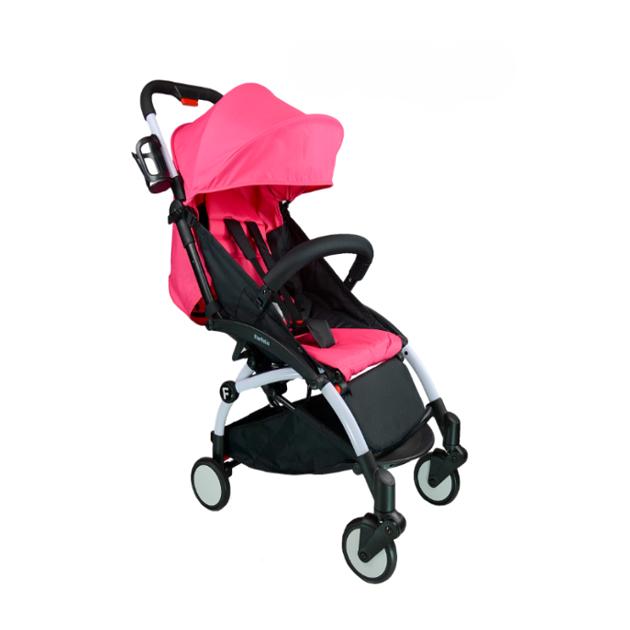 Купить Прогулочная коляска Farfello 008A ярко-розовый, Коляски книжки