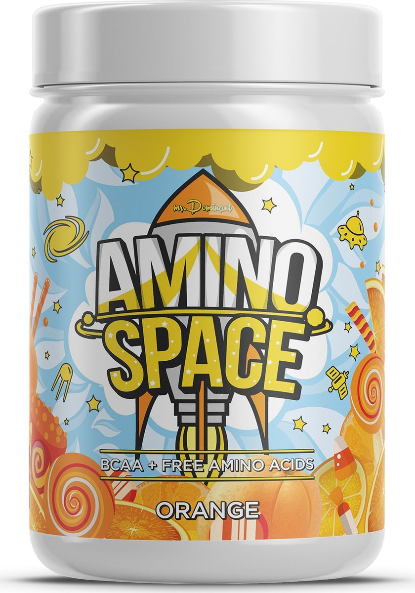 Mr. Dominant Amino Space 300 г апельсин фото