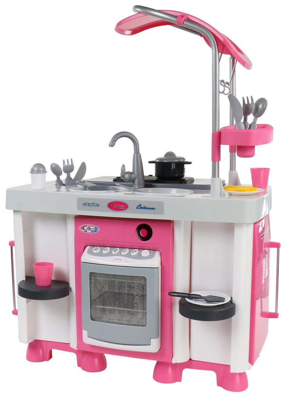 Купить Игрушечные кухни, Набор Coloma Y Pastor Carmen №7 с посудомоечной машиной и варочной панелью, Детская кухня