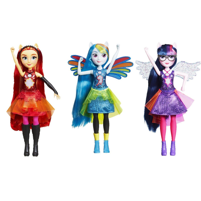 Кукла интерактивная Equestria Girls My Little Pony