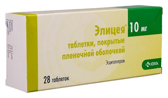 Купить Элицея таблетки 10 мг 28 шт., KRKA